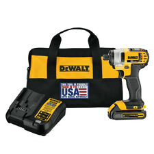 DEWALT DCF885C1 20V MAX Li-Ion 1/4 in. Cordless Impact Driver Kit (1.5 Ah) New