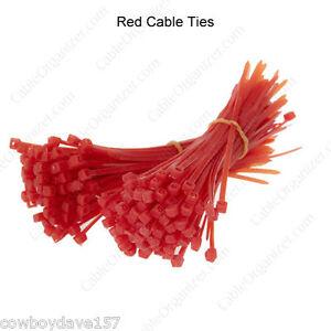 Cable Ties Orange 4 Nylon Tie  Bundle Tie Zip Tie Cable Tie  100  Pack Befestigungsteile & Eisenwaren Business & Industrie