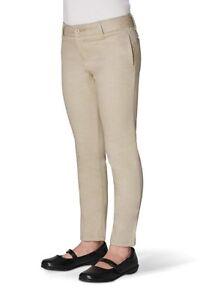 French Toast Girls Khaki Pants Adjustable Waist Official School Wear Multi Sizes