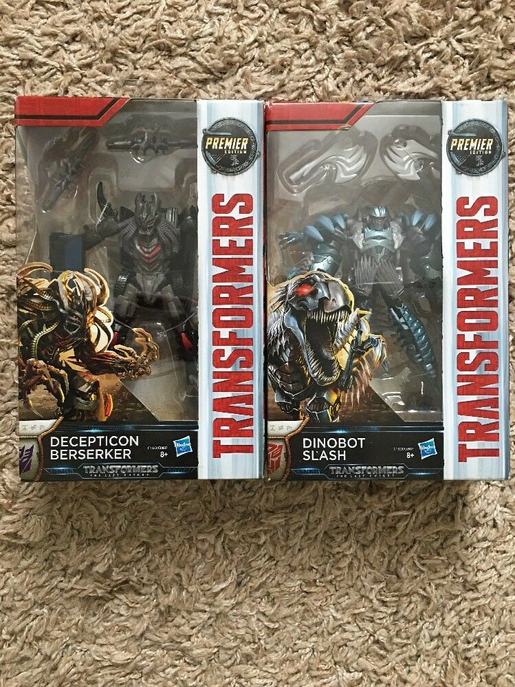 Transformers 5 The Last Knight-Deluxe Class Decepticon Berserker & Dinobot Slash