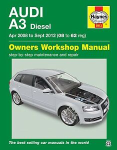audi a3 haynes manual repair manual workshop service manual 2008 rh ebay ie repair manual audi a3 8p repair manual audi a3 download