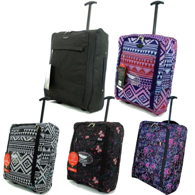 Lightweight Hand Luggage Bag Suitcase Ryanair Easyjet Cabin Case Fits 55x40x20