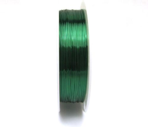 1roll Especial De Alambre De Cobre Artesanía alambre del grano Wrap joyería u Pick Nuevo 23m