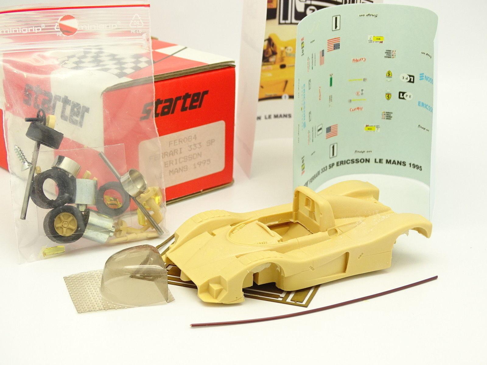 Starter kit to fit 1 43 - ferrari 333 sp le mans 1994 ericsson