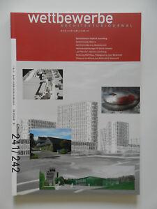 Wettbewerbe-Architekturjournal-Architektur-Zeitschrift-Heft-241-242-2004