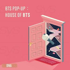 BTS POP-UP HOUSE OF BTS Official Goods MD DNA Ver + Tracking Number