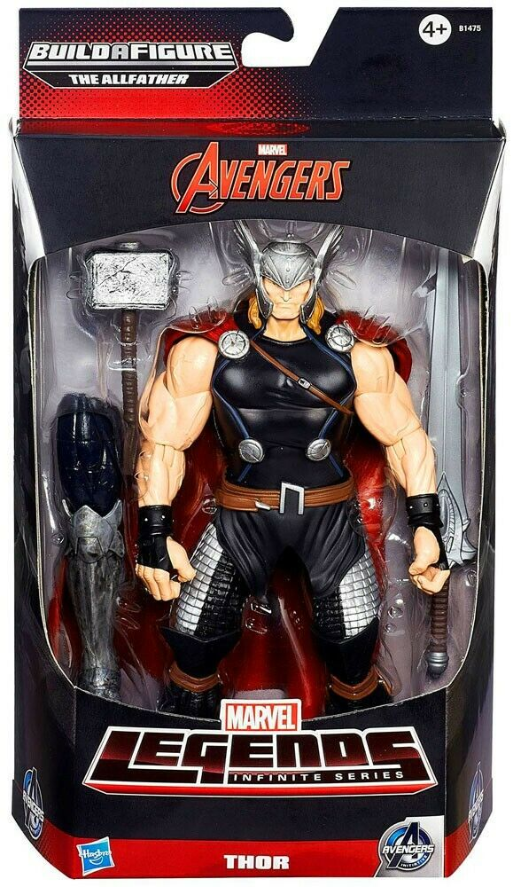 Avengers Marvel Legends tuttifather Series Thor azione cifra