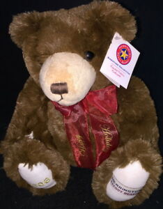 Herrington-Teddy-Bears-2006-HAPPY-HOLIDAYS-Teddy-Bear-16-034-Plush-MWMT-Rare-1-200