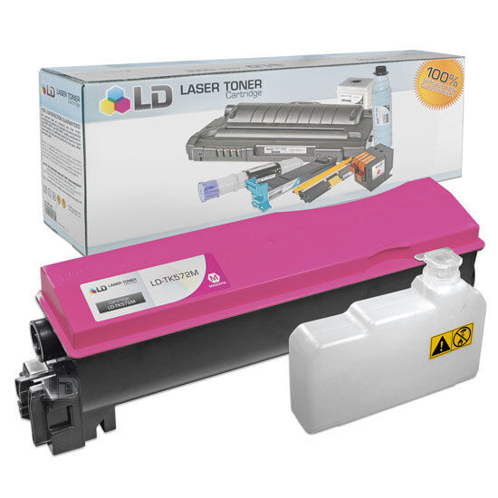 P7035CDN Black On-Site Laser Compatible Toner Replacement for Kyocera-Mita TK572K Works with: FS C5400 C5400DN