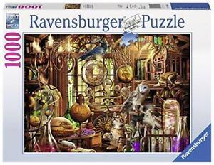 Jigsaw-Puzzle-MERLINS-LABORATORY-Magic-Ravensburger-Popular-Branded-Game-1000
