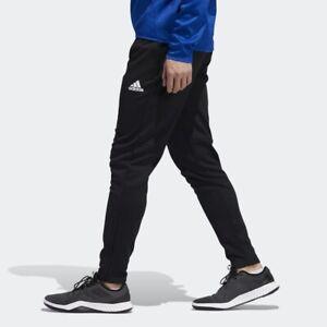 Adidas Pantalones Problemas De Equipo Para Hombres Talla M Pantalones Deportivos Negro Chandal Conico Ebay