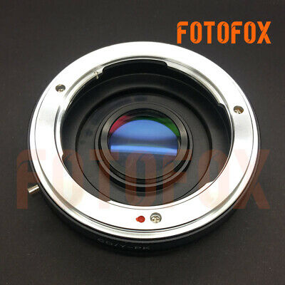 Contax Yashica CY lente para Pentax K-50 K-5 II K-30 K-01 K-5 K-r K-x K-7 K-m K20D