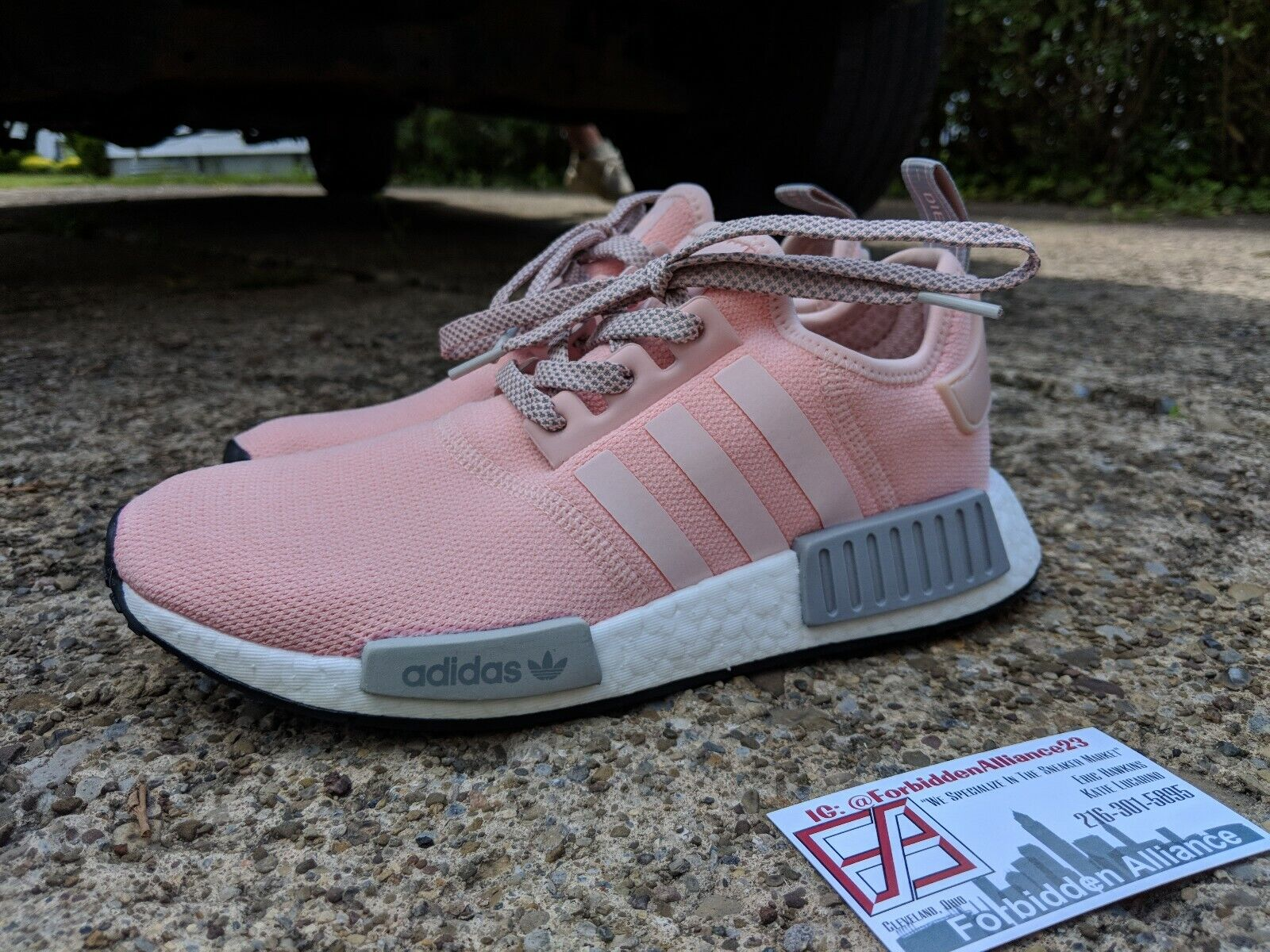 "2017 New Adidas NMD R1 ""Vapour Pink"" BY3059 Women's Shoes"