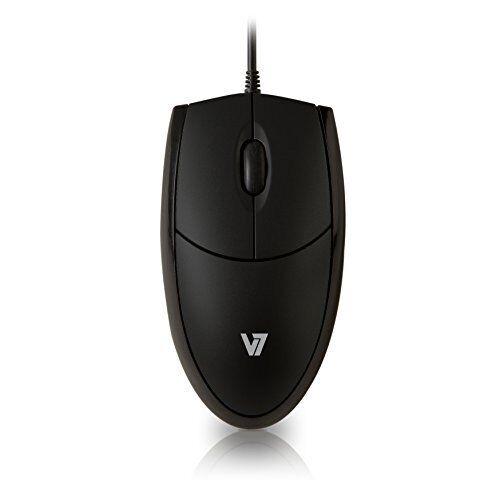 V7 MV3000010-BLK-5E V7 Optical LED USB Mouse black