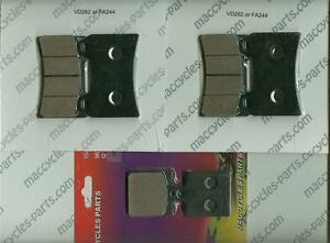 1999 to 2002 EBC Sintered FRONT and REAR Disc Brake Pads Ducati 748 3 Sets
