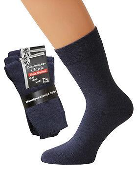 10 Paar Damen Sneaker Socken Maritim mit Komfortbund ohne Gummidruck Baumwolle