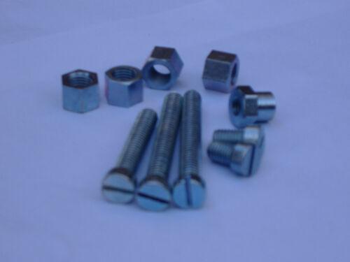 BSA Outer Gearbox Fixing Case Nuts//Screw Set A7 A10 RGS B31 B33 GOLDSTAR