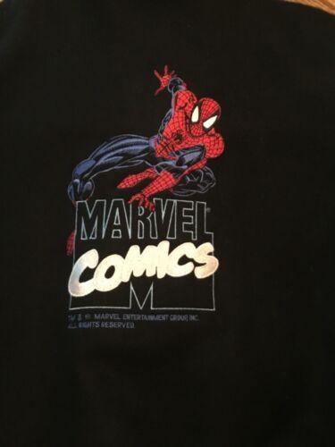Spiderman Letter Jacket Marvel XL Coat