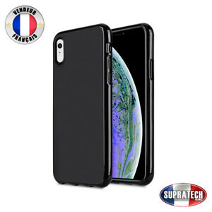 coque noir silicone iphone xr