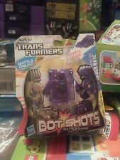 Bot Shots Clear Purple Shockwave  transformers chase Fugure