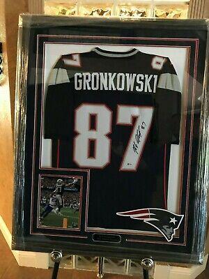 rob gronkowski autograph jersey