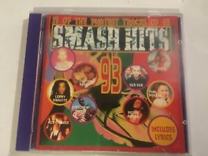SMASH HITS 93- CD  - VGC - 19 TRACKS - FREE POST