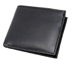 MENS-RFID-BLOCKING-REAL-LEATHER-SLIM-WALLET-WITH-ID-amp-SECURE-ZIP-COIN-POCKET-121
