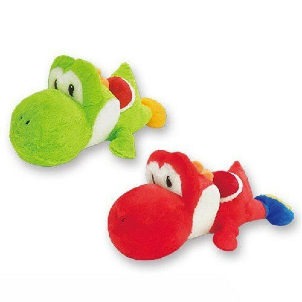 New Big 17inch Yoshi Fluffy Plush Doll 2pcs set Stuffed ToyPrize Japan F S J8286