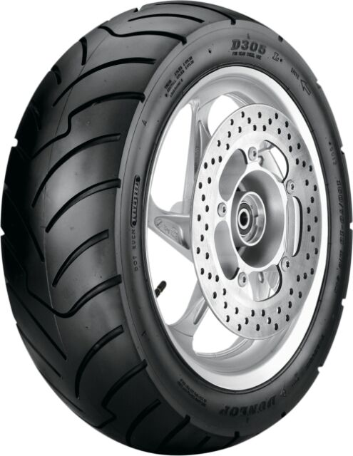 Dunlop 428015 (WAS 427615) SX01 Scooter Tire Rear - 150/70-13 Rear 4280-15 13