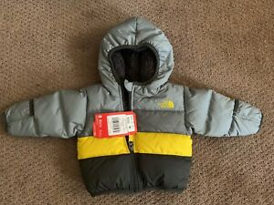 c3da98450 Details about NWT-THE NORTH FACE INFANT BOY'S MOONDOGGY 2.0 JACKET MID GREY  3-6 MONTHS