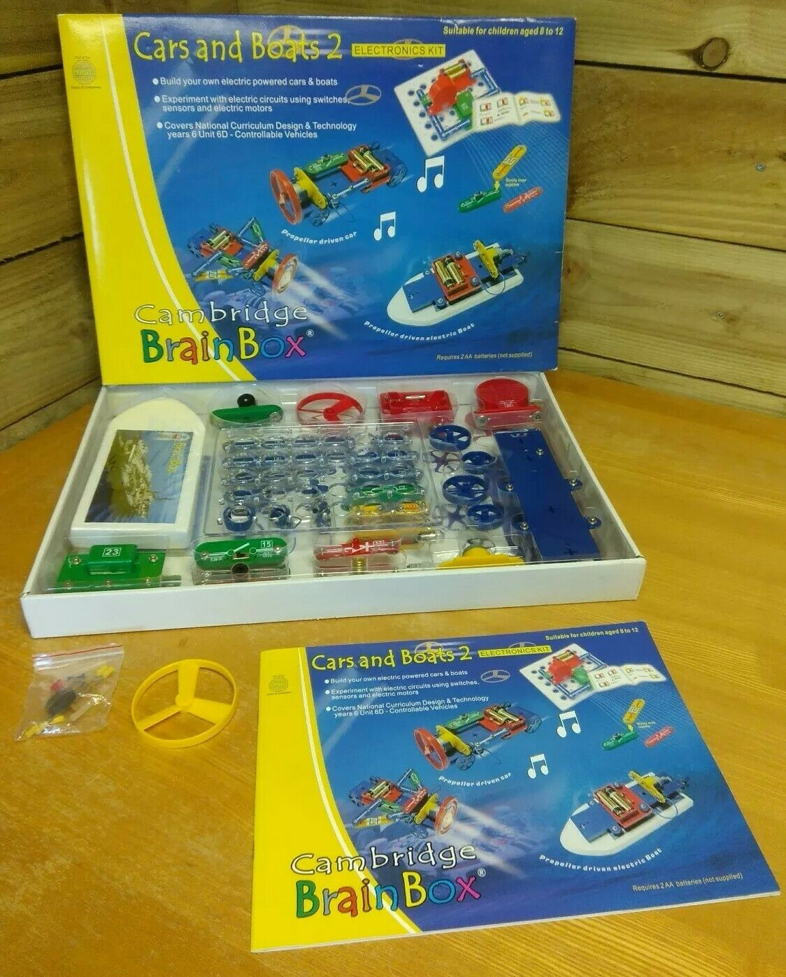 Cambridge - Cars and Boats 2 - Electronics Kit  - National Curriculum Approved