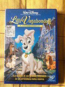 Lilli e il vagabondo 2 film walt disney dvd italiano x bambini