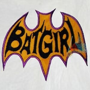 Batman-Batgirl-Logo-Serie-of-Yvonne-Craig-Embroidered-Patch-Adam-West-1966-Joker
