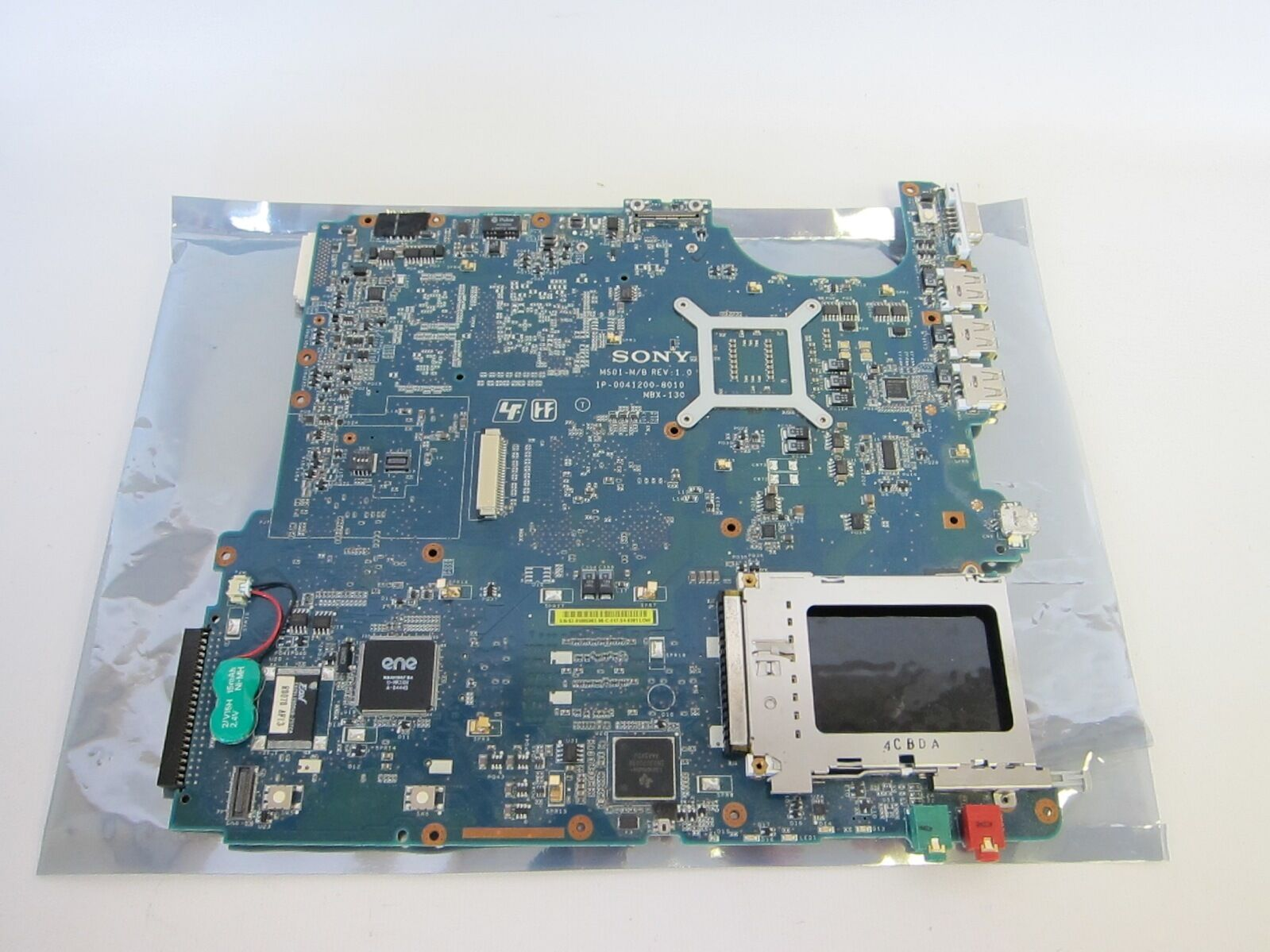 Sony MS01-M B 1P-0041200-8010 Motherboard Rev 1.0 1P00412008010 MS01MB