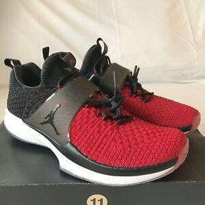fe9f47fae2 Brand New Jordan Trainer 2 Flyknit Men's Shoe Size 11 Gym Red/Black ...
