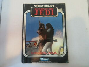 Star Wars Return of the Jedi Vintage Kenner Coloring Book/Lando Calrissian/1983