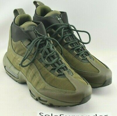 official photos 48c2c 7515f Nike Air Max 95 Sneakerboot - SIZE 8 - 806809-202 Olive Army Retro Dark