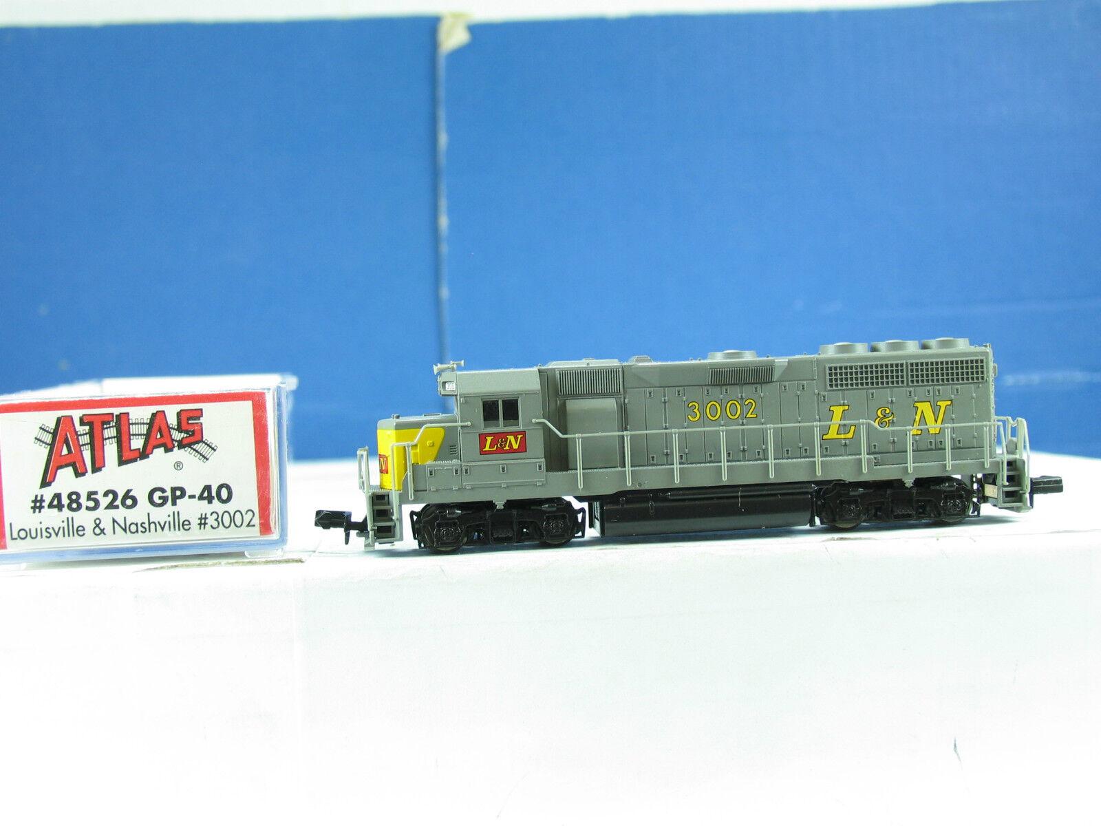Atlas n 48526 diesellok gp-40 L & N 3002 b4276