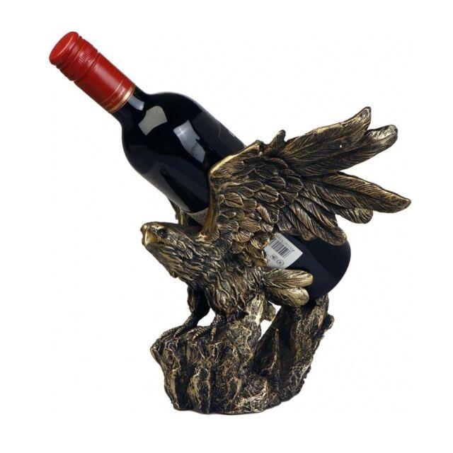 Weinregal 60cm Eisen Wein Regal Weinflaschen Flaschenregal Bar Antik-Stil braun