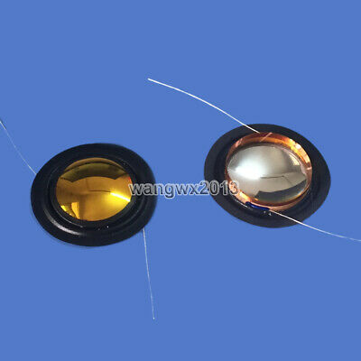 2pcs 25.5mm Tweeter Voice Coil Treble Speaker Plastic Sound Film Repair Part #1