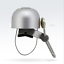 Stainless Steel Cycling Bike Handlebar Ring Bell Horn Bicycle Alarm Bell Mini