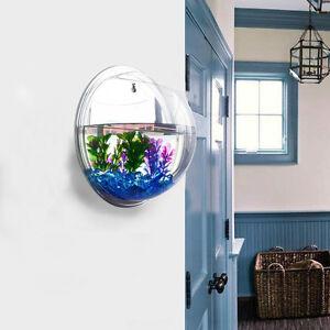 Mini Wall Mount Hanging Fish Bubble Aquarium Bowl Tank Home Decoration Pot Plant Ebay