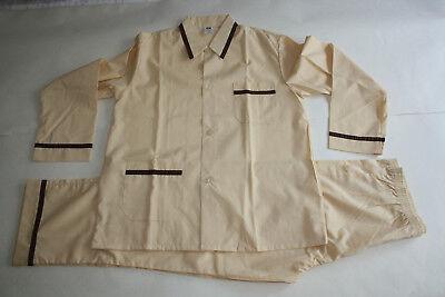 Gewidmet Herren Schlafanzug Pyjama - Größe: 44-46 - Neu