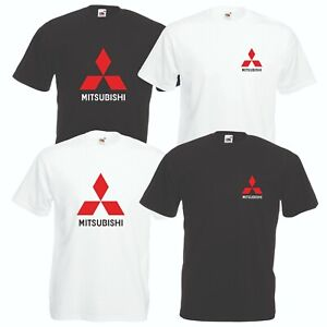 Mitsubishi-T-Shirt-Car-Enthusiast-Rally-Lancer-Evolution-VARIOUS-SIZES-amp-COLOURS
