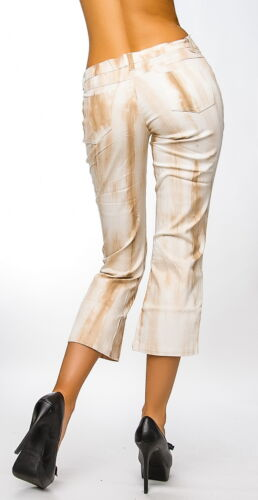 /< /> 7//8 Jeans Donna Pantaloni In Batik Style Tg 40 /< />