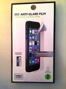 Nip Belkin Ez Frame Iris Anti Glare Film With Easy Install Frame For