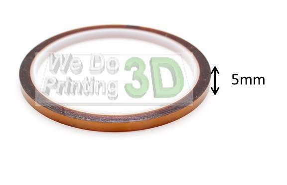 5mm top for 500mm-ideal 3d printer beds Kapton tape 200mm 20cm