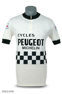 Image is loading Peugeot-Esso-vintage-wool-jersey-new-never-worn- 76b126cfb