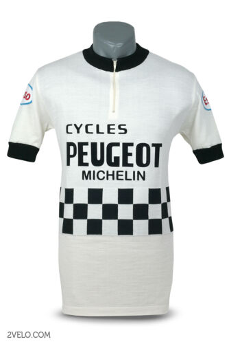 new never worn XXL Peugeot Esso vintage wool jersey
