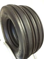 Two 600-16 Tractor Tires & Tubes Heavy Duty 6 Ply Rated 6.00 16 3 Rib